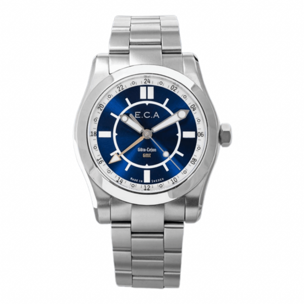 GMT watch from Swedish brand E.C.Anderson.