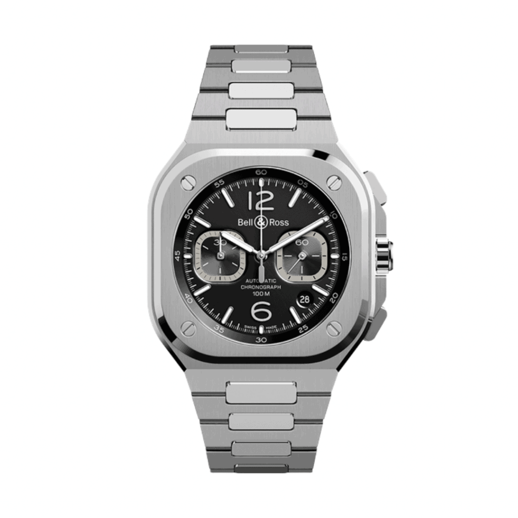 A chronograph from French watch brand Bell & Ross.