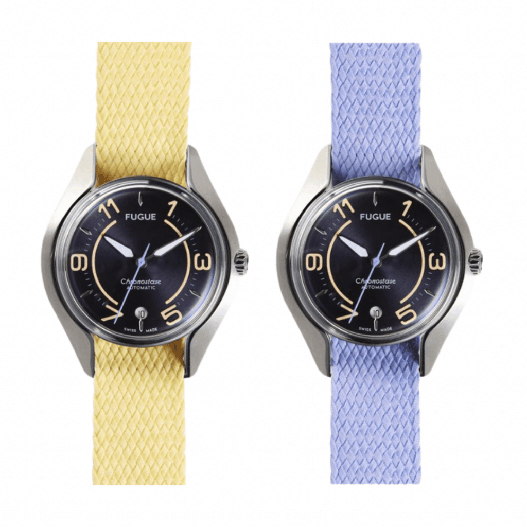 Two watches from FUGUE.