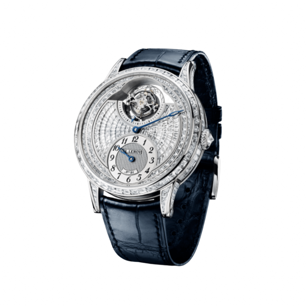 French watch brand L. Leroy limited edition watch.