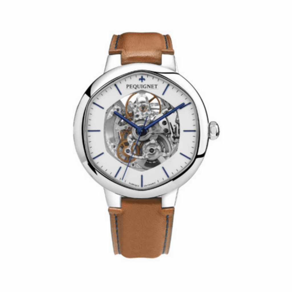 Pequignet watch from the Exagone Collection.