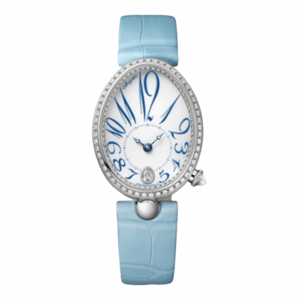 The French watch brand Breguet's ladies watch from the Reine de Naples watch collection