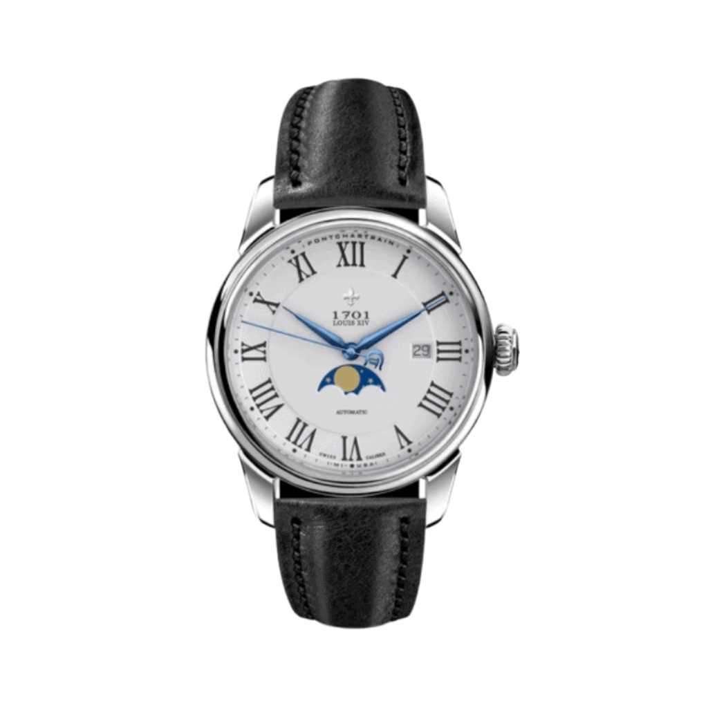 Moonphase watch from the American brand Detroit Watch Company.