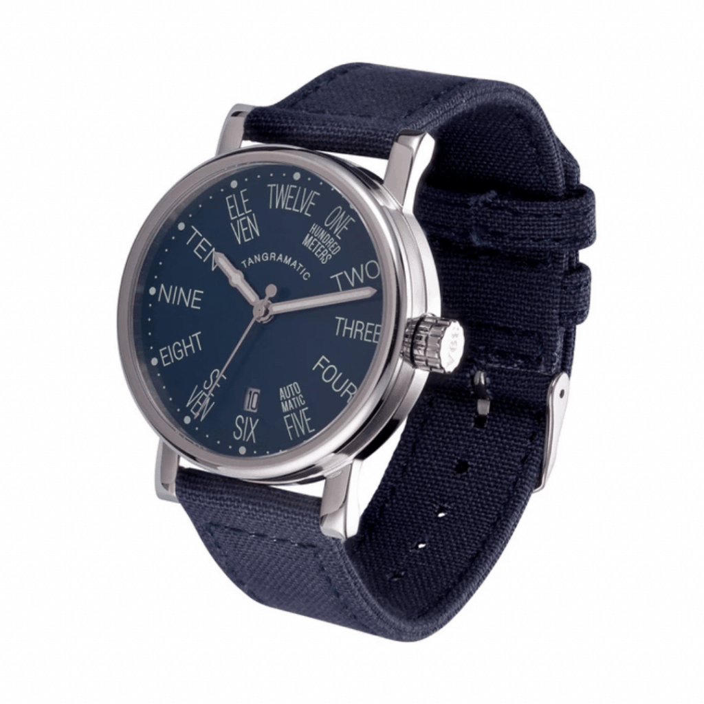 Watch from watch brand Tangramatic.