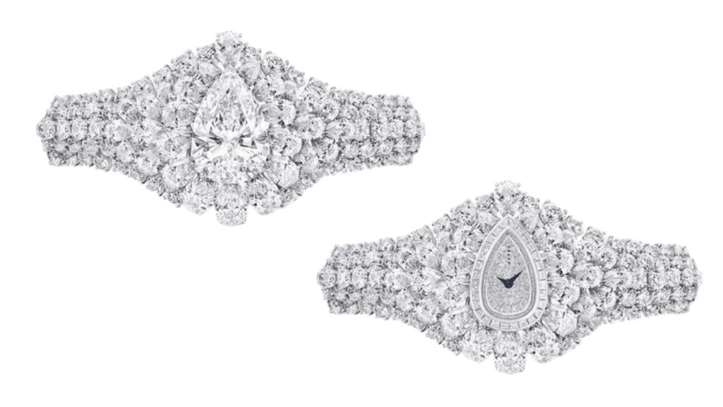 Graff Diamonds The Fascination Watch. The white diamond timepiece and bracelet