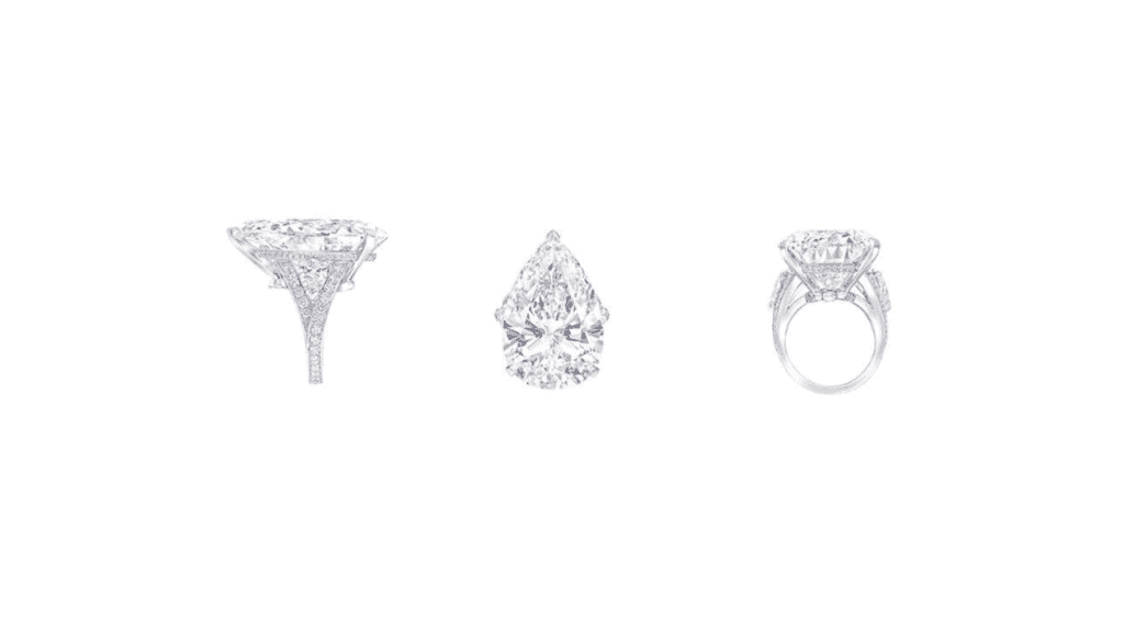 Graff Diamonds The Fascination Watch. The white diamond ring.