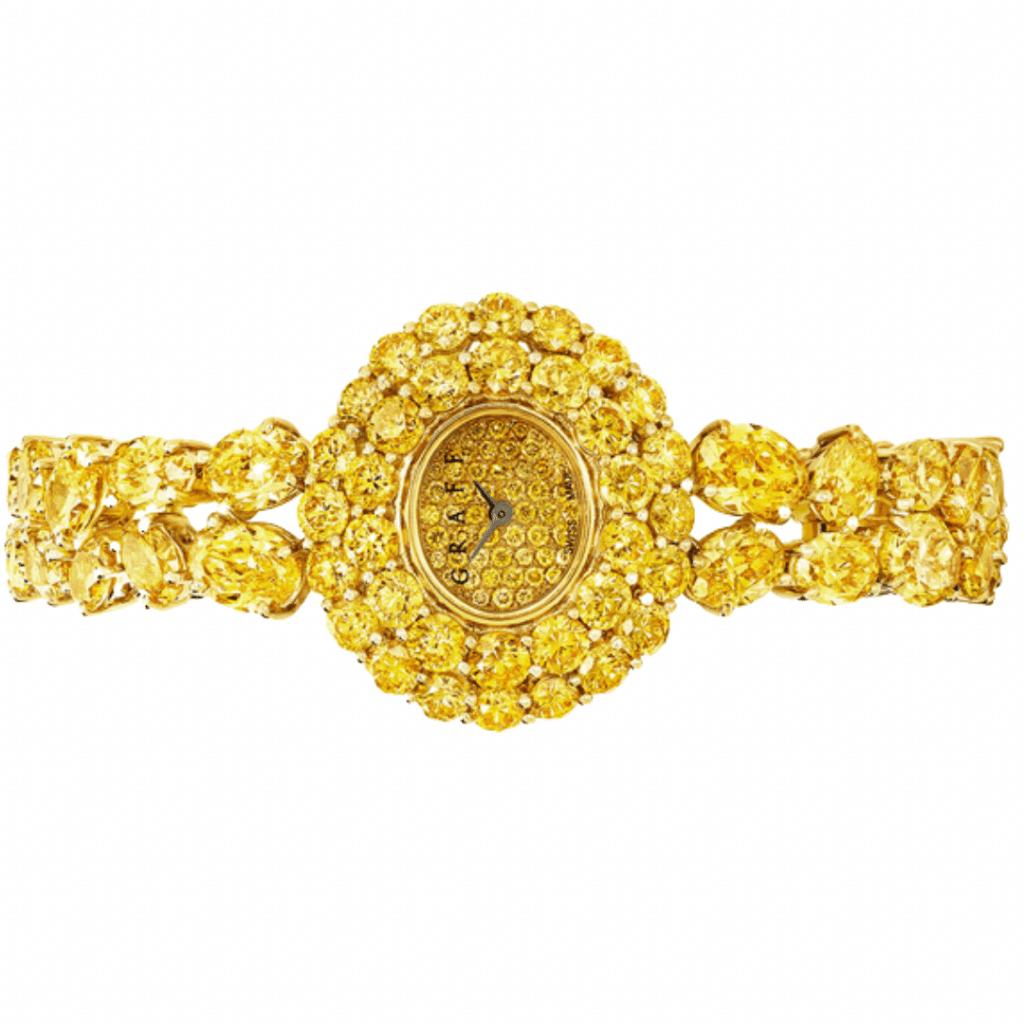 Graff Diamonds Vivid Yellow Watch