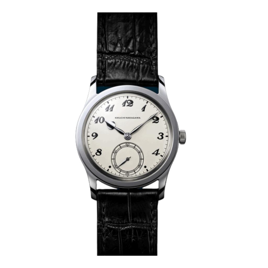 A dress watch from independent Japanese watchmaker; Kikuchi Nakagawa.