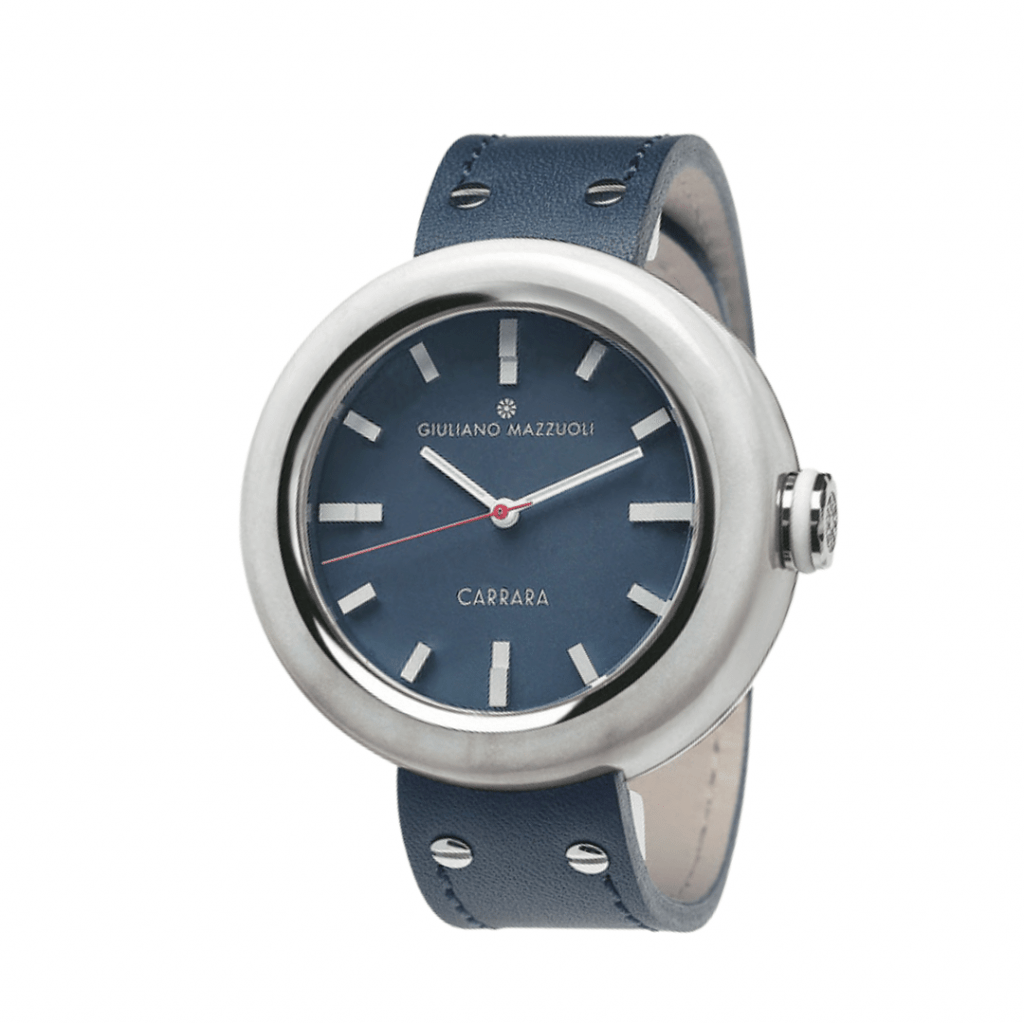 Italian watchmaker Giuliano Mazzuoli's Carrara watch.