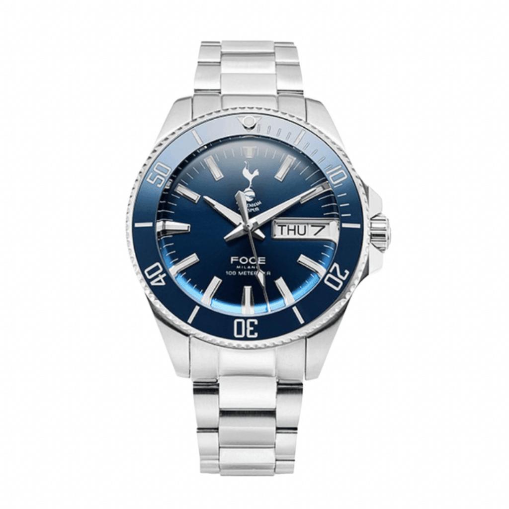Sports watch inspired by Tottenham Hotspurs football team from Korean watch brand Foce.
