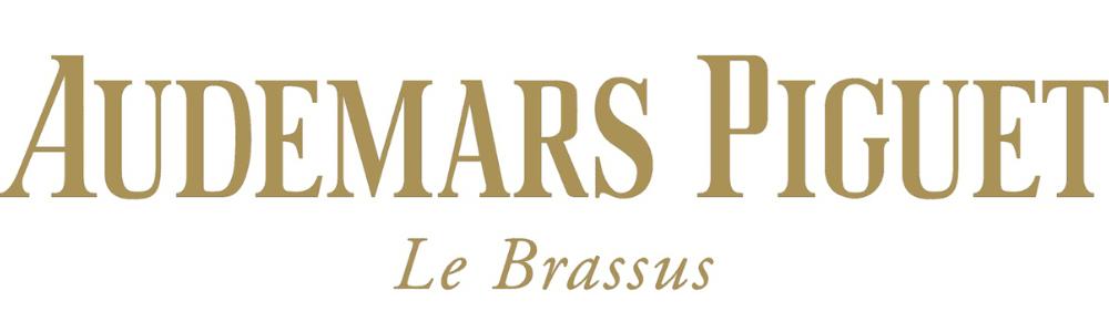 The logo of the watch brand Audemars Piguet