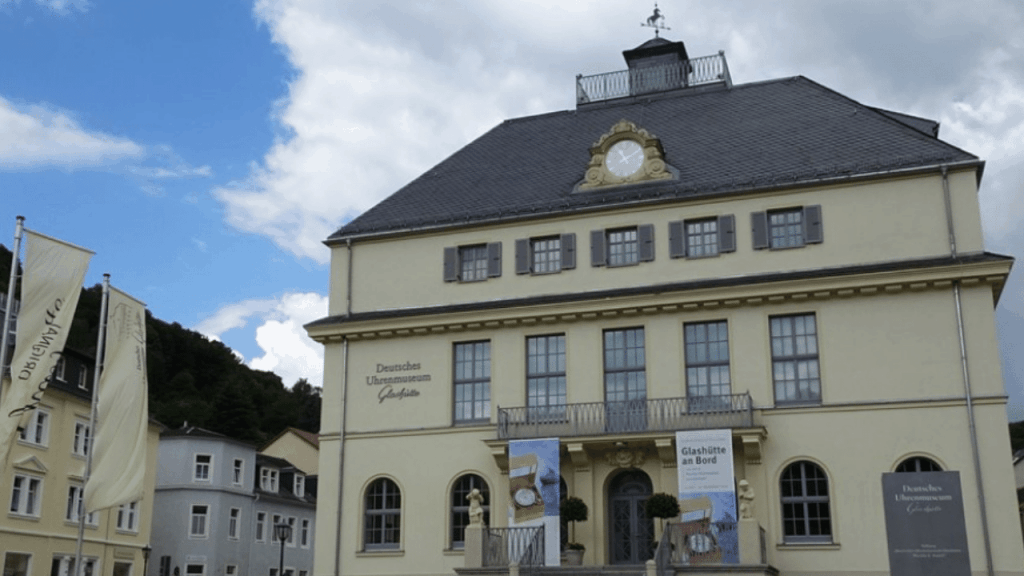 The building of the German Watch Museum in Glashütte