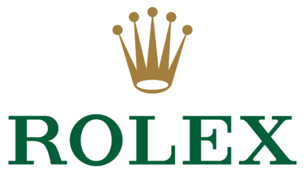 Logo of watch brand Rolex