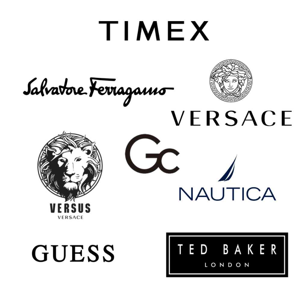 Brand logos of the Timex Watch Group