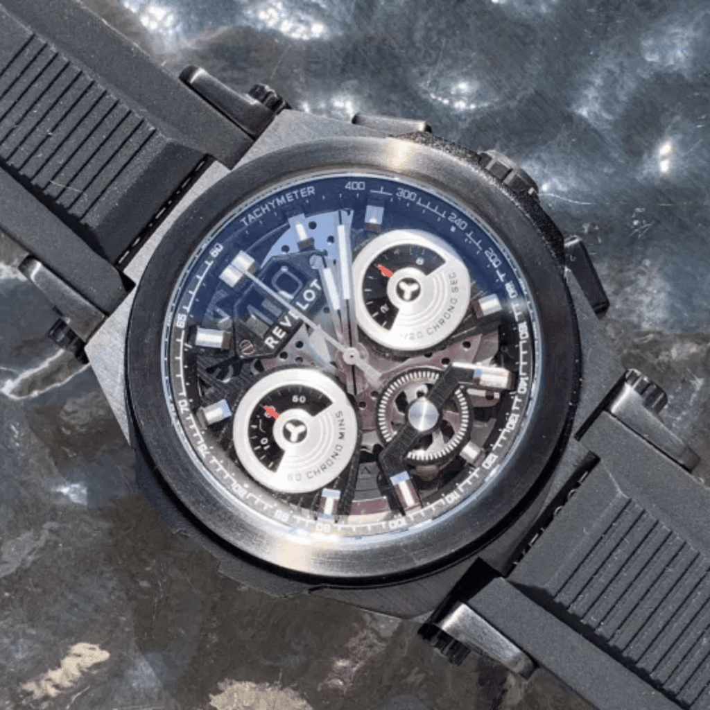 Photo of a Revelot R9 Veloce - A microbrand watch