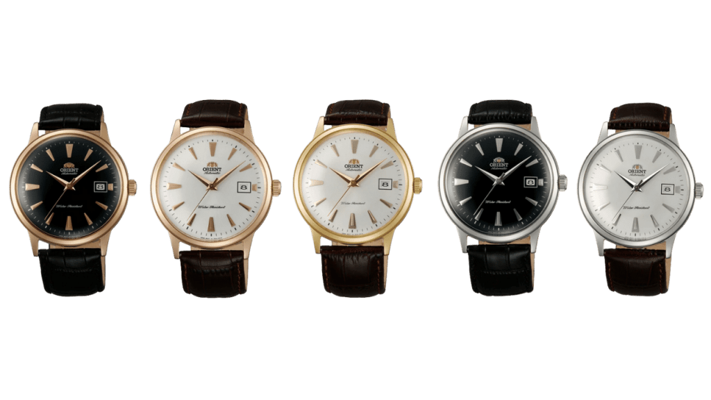 Photo of Orient Bambino Version 1 dress watches
