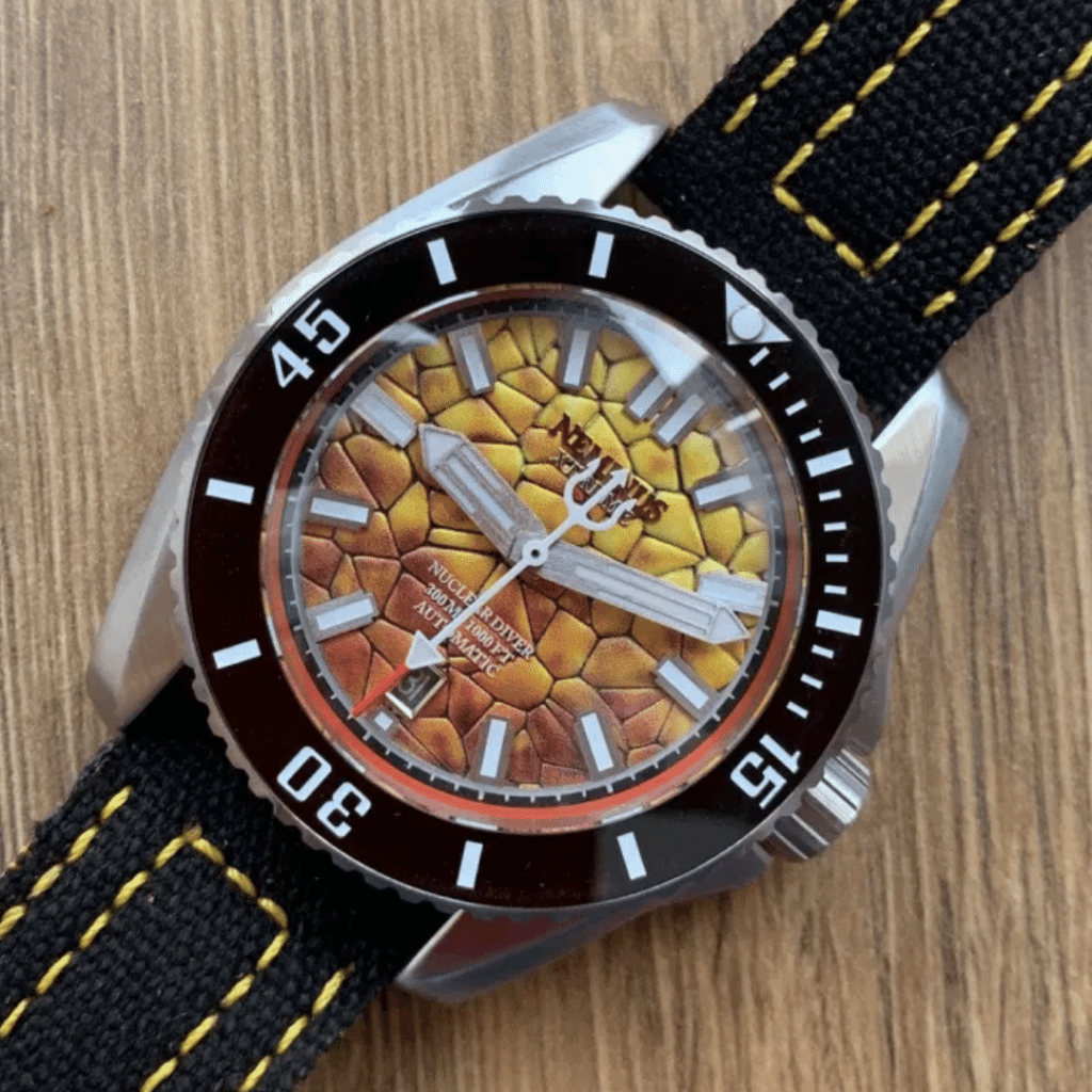 Photo of a Neminus Xtreme Diver 300 - A microbrand watch