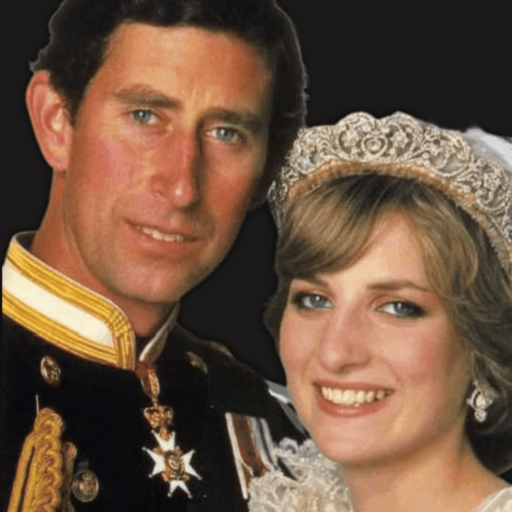 Photo of Charles & Diana on their wedding day
