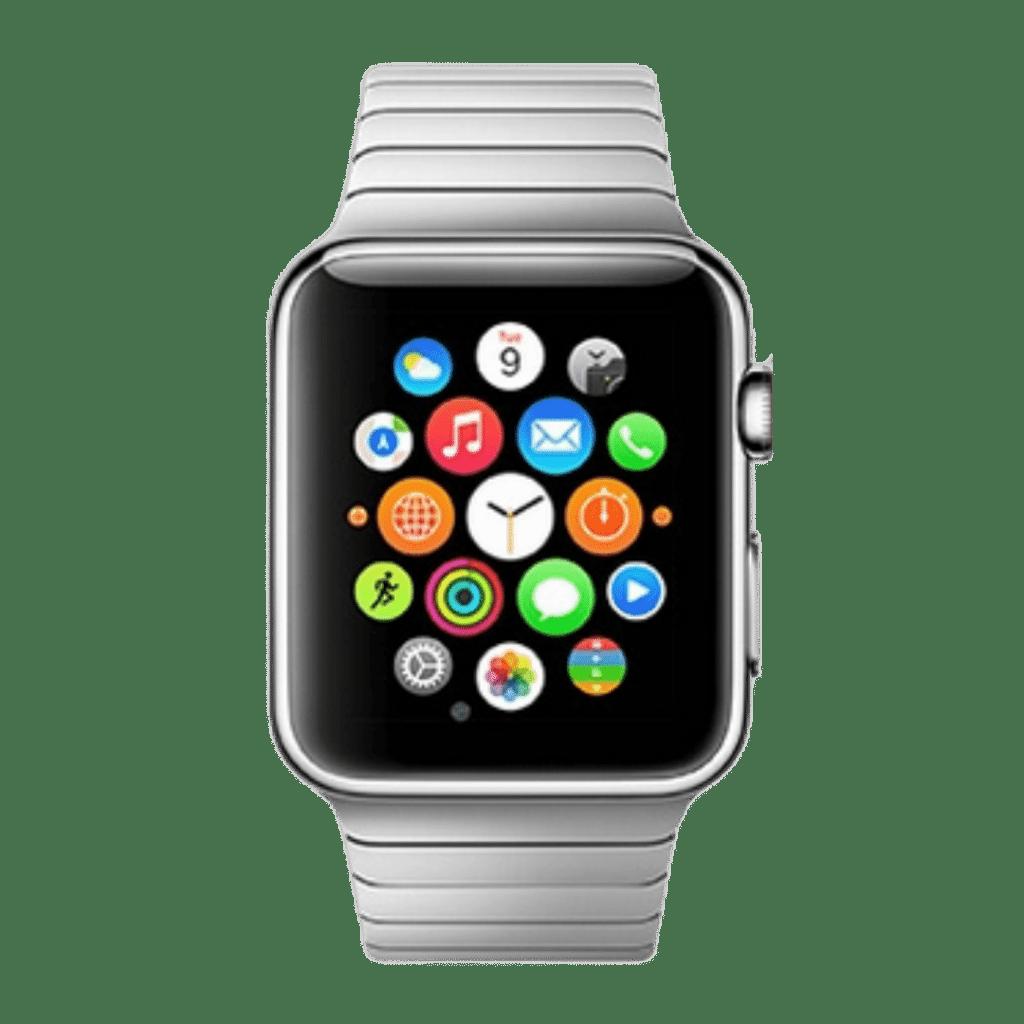 Photo of an original Apple Watch