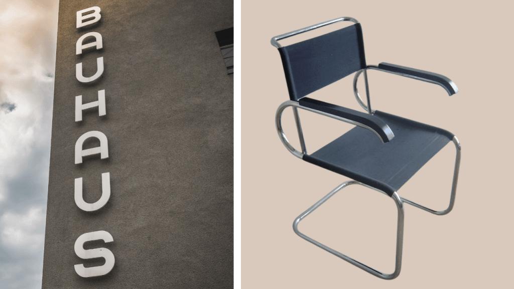 Photo of Bauhaus Design Example in furniture