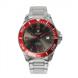 Dive watch called the Intrepid Diver from Canadian watch brand; Whitby Watch Co.